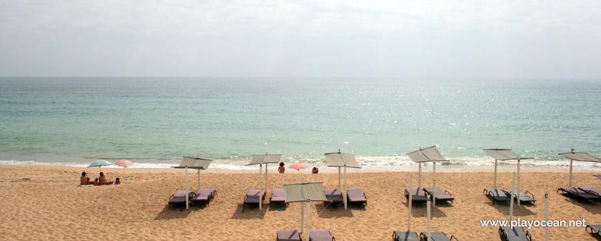 Sea at Praia do Ancão Beach