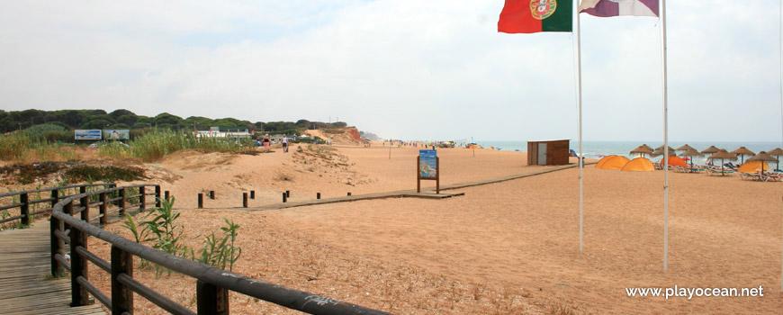 Acesso à Praia do Forte Novo