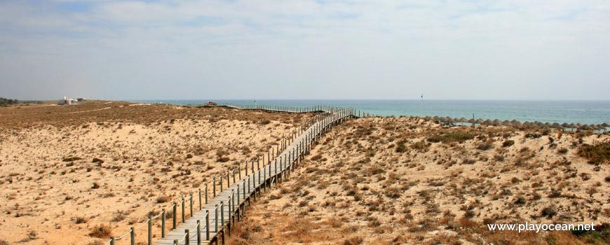 Passadiço para a Praia do Garrão (Nascente)