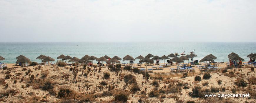 Sul na Praia do Garrão (Nascente)