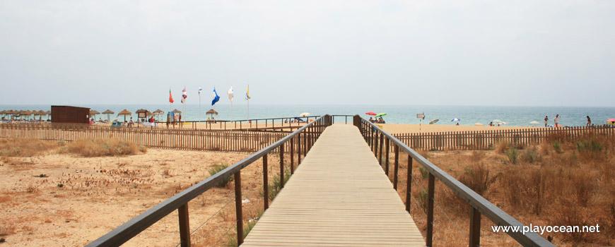 Acesso à Praia de Loulé Velho