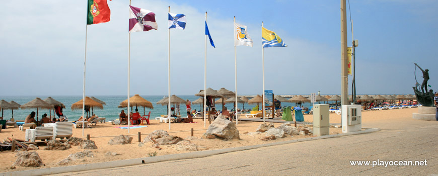 Estandartes, Praia de Quarteira