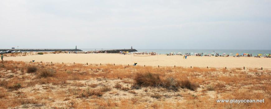 Sand at Praia da Rocha Baixinha (East-Loulé) Beach