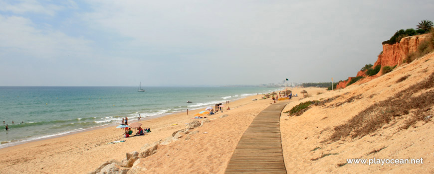 West at Praia de Vale do Lobo Beach