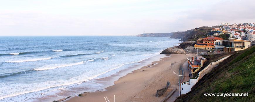 North, Praia da Areia Branca Beach
