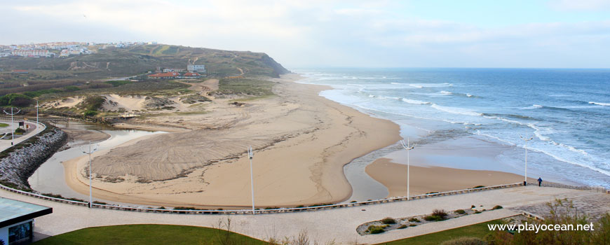 Panoramic of Praia da Areia Branca Beach