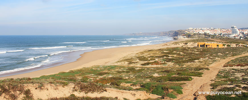 Panoramic of Praia do Areal Beach