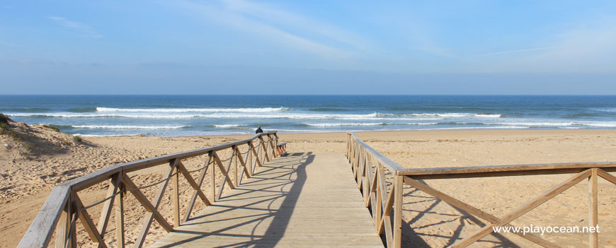 Walkway at Praia do Areal Beach