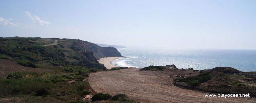 Estacionamento na Praia do Caniçal