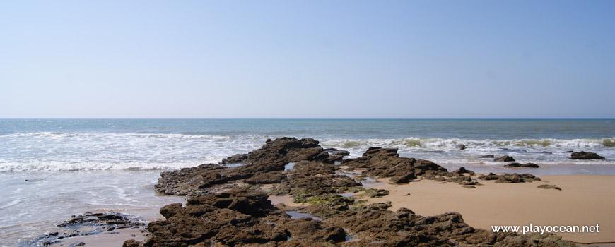 Rochas na Praia do Caniçal