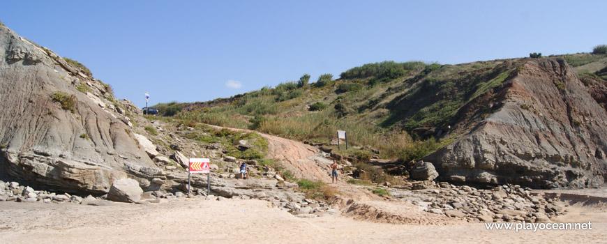 Saída da Praia do Caniçal