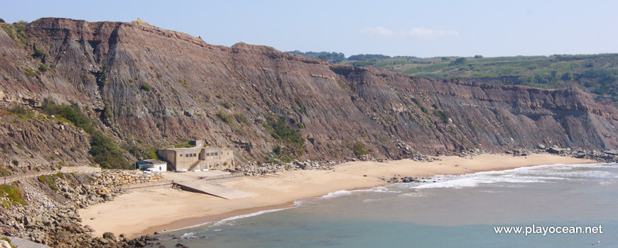 Panoramic of Praia de Paimogo Beach