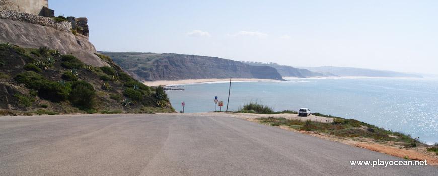 Estacionamento, Praia de Paimogo