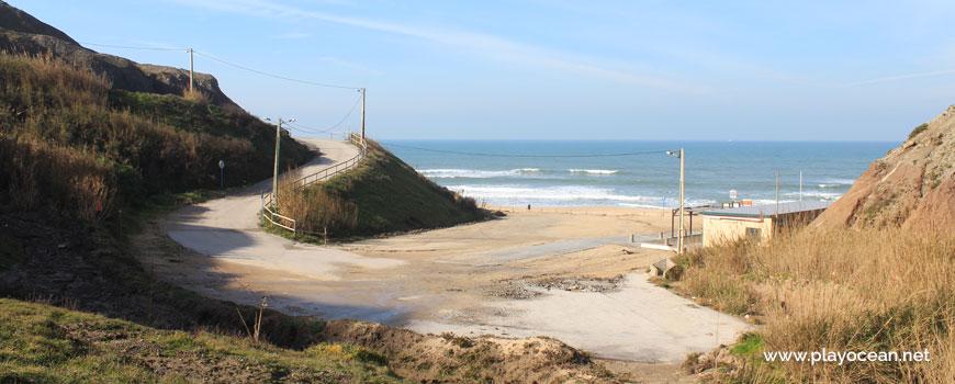 Access to Praia da Peralta Beach