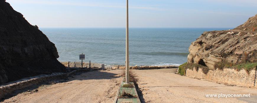 Acesso à Praia do Porto das Barcas