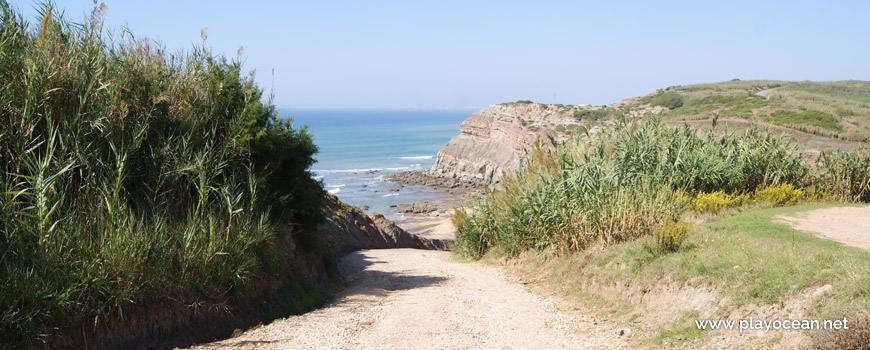 Descent to Praia do Vale dos Frades Beach