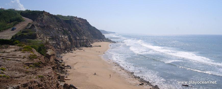 Sul na Praia do Vale dos Frades Beach
