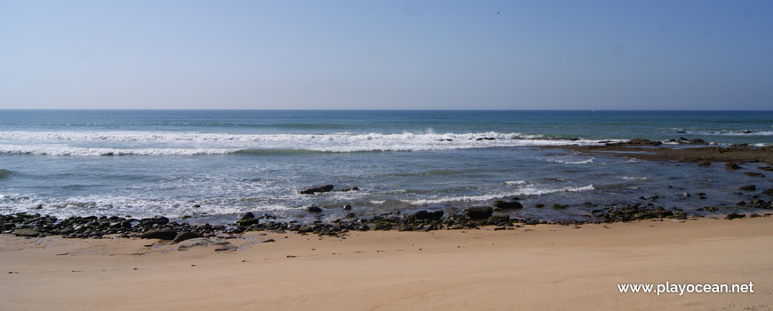 Sea at Praia do Vale dos Frades Beach