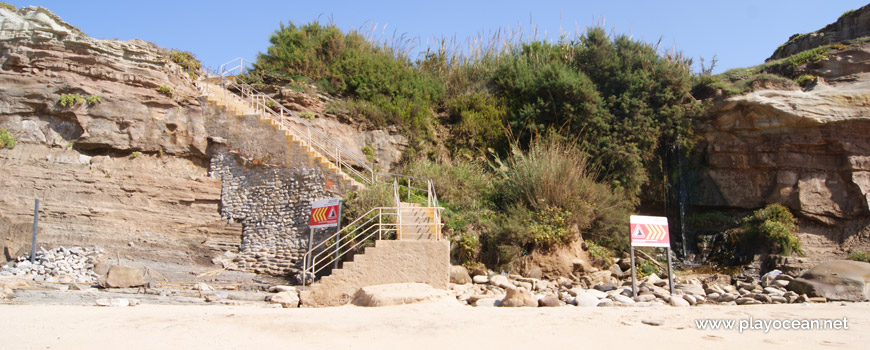 Access to Praia do Vale dos Frades Beach