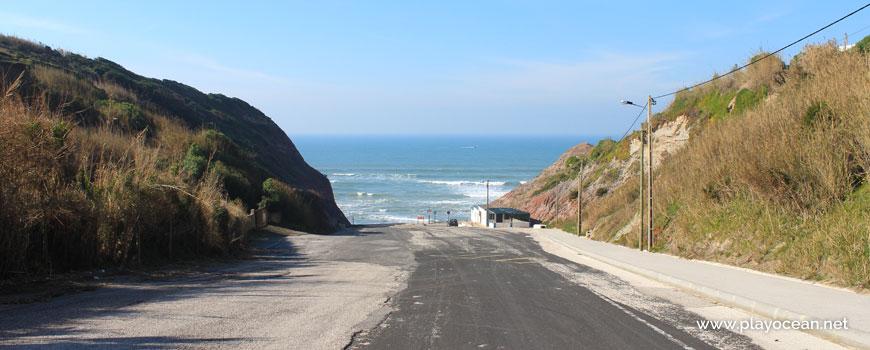 Estacionamento na Praia de Valmitão