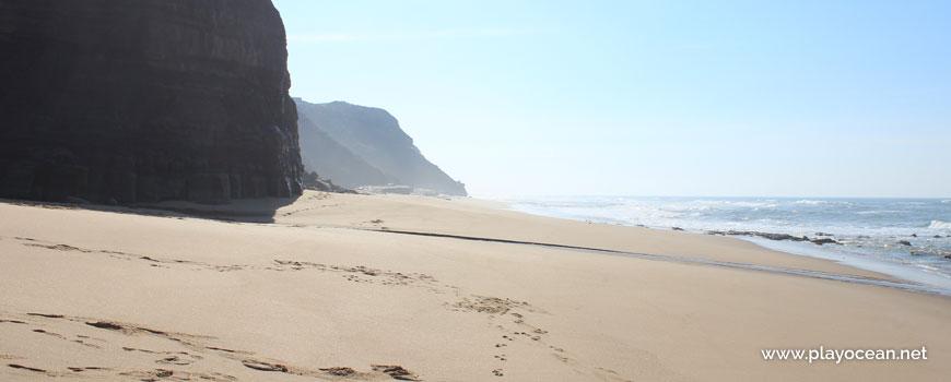Sul na Praia de Valmitão