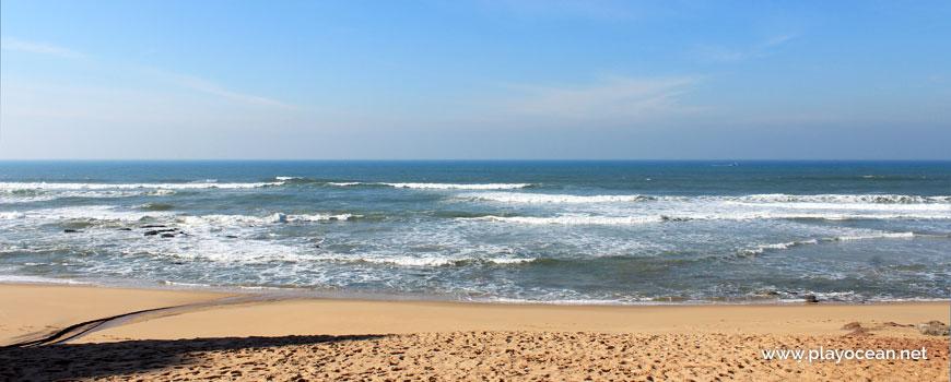 Mar na Praia de Valmitão