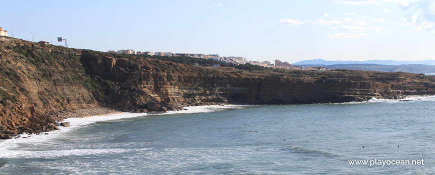 Panoramic of Praia do Alibabá Beach