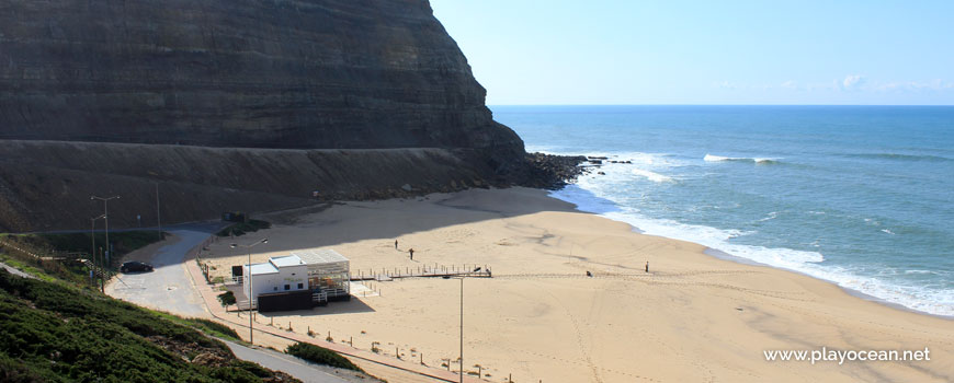 South at Praia da Calada Beach