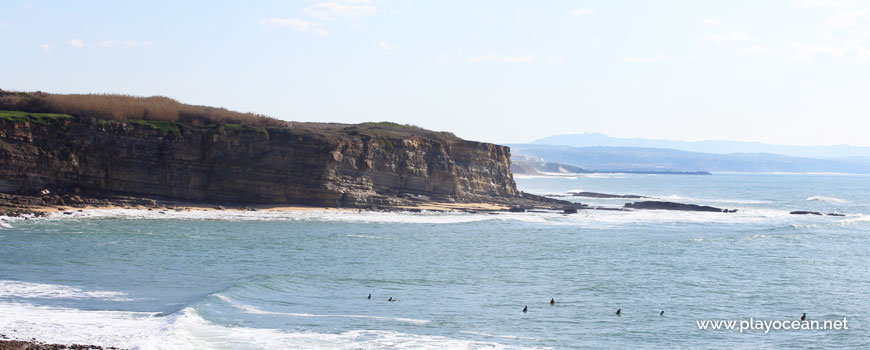 Cliff at Praia dos Coxos (Surf) Beach