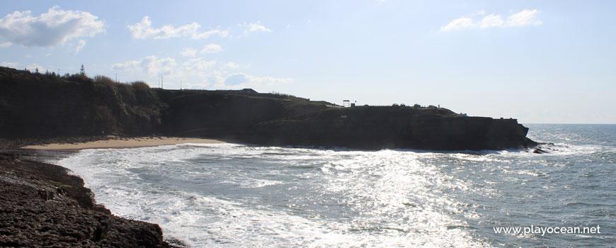Cliff at Praia dos Coxos Beach