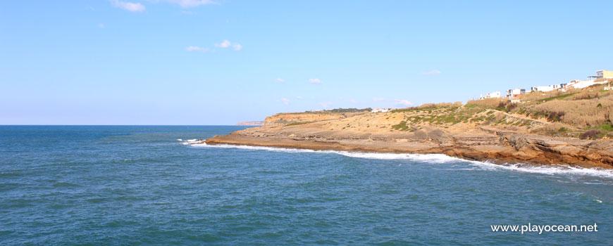Slab at Praia dos Coxos Beach