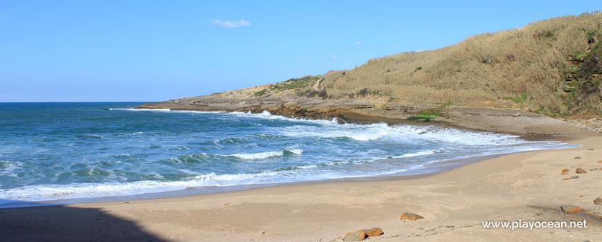 Sea at Praia dos Coxos Beach