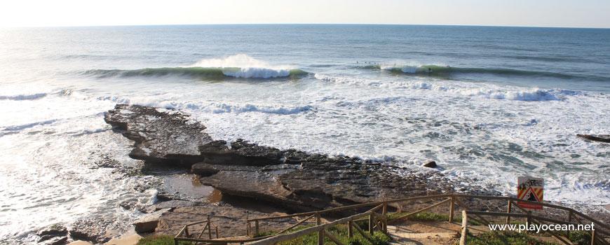 Laje na Praia da Empa