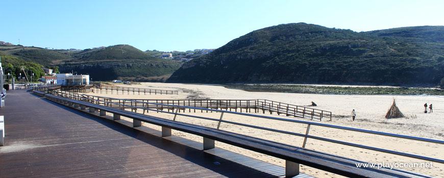 Walkways at Praia da Foz do Lizandro Beach