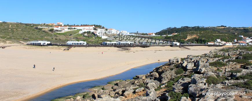 Praia da Foz do Lizandro Beach