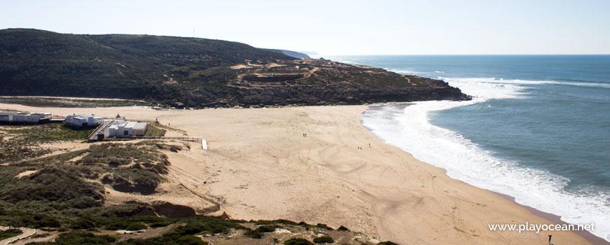 Sul na Praia da Foz do Lizandro