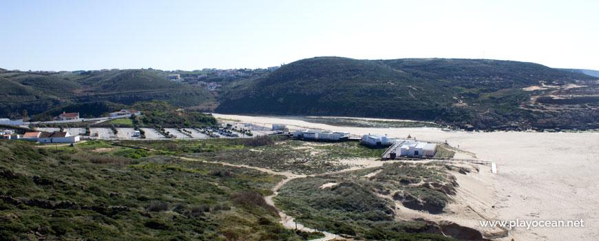 Vegetação na Praia da Foz do Lizandro