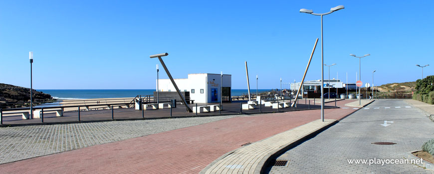 Bars, Praia da Foz do Lizandro Beach
