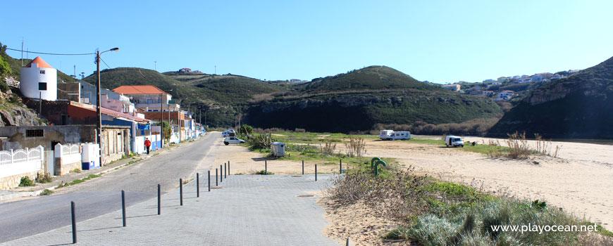 Way out of Praia da Foz do Lizandro Beach