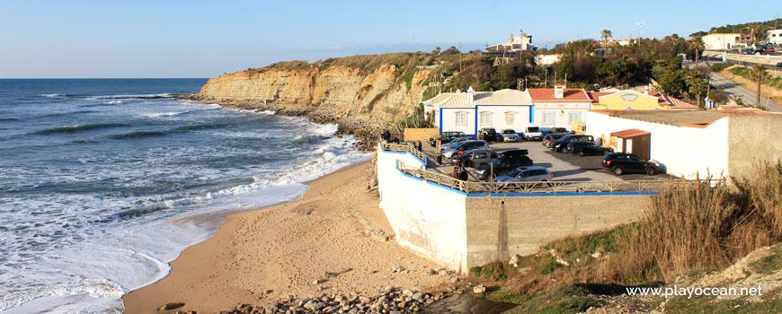 Parking at Praia do Matadouro Beach