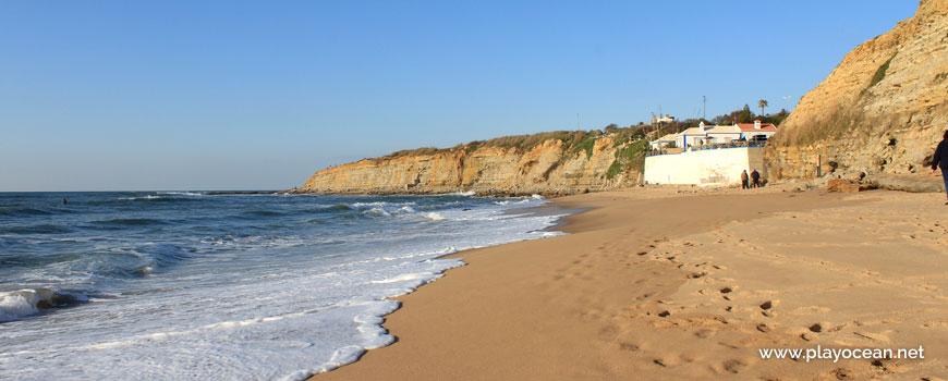 North at Praia do Matadouro Beach