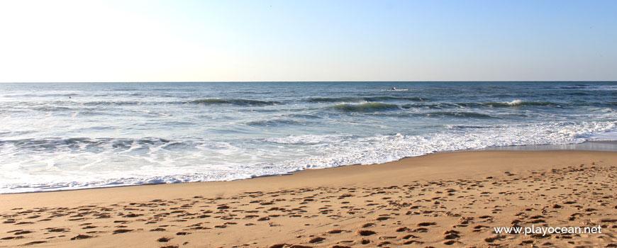Sea at Praia do Matadouro Beach