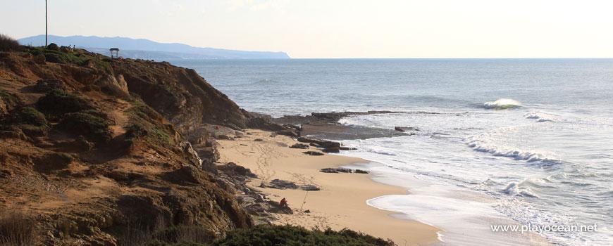South of Praia da Orelheira Beach
