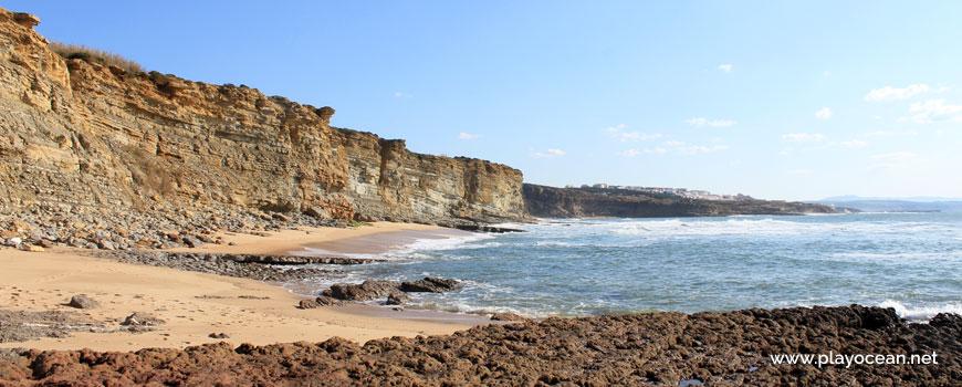 South at Praia da Pesqueira Beach