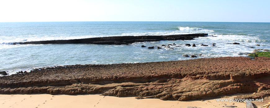 Lajes na Praia da Pesqueira