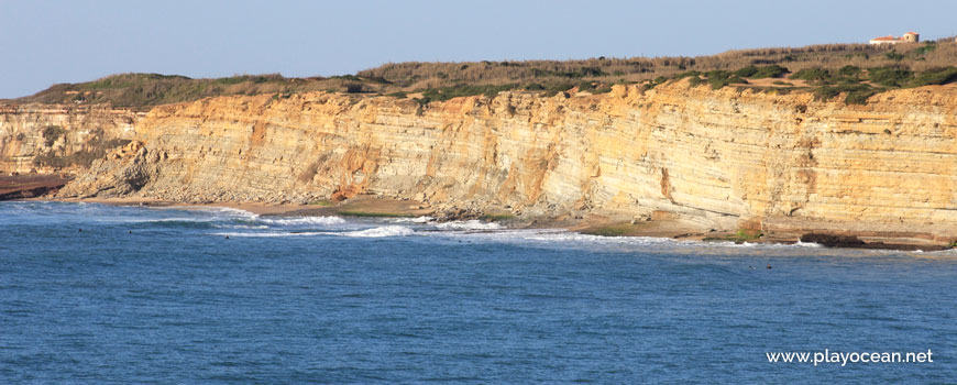 Panoramic of Praia da Pesqueira Beach