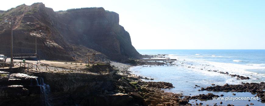 Cascata na Praia de Porto Barril