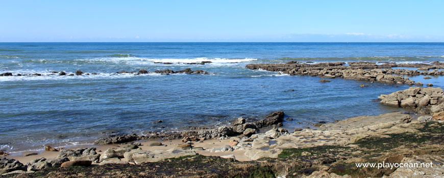 Zona de banhos na Praia de Porto Barril