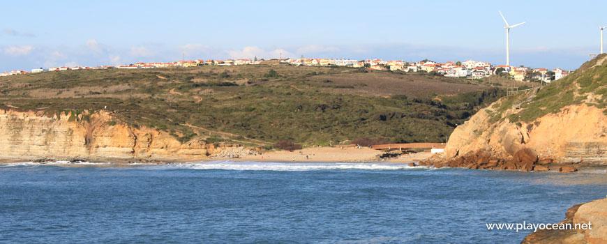 Panoramic to Praia de Ribeira dIlhas Beach