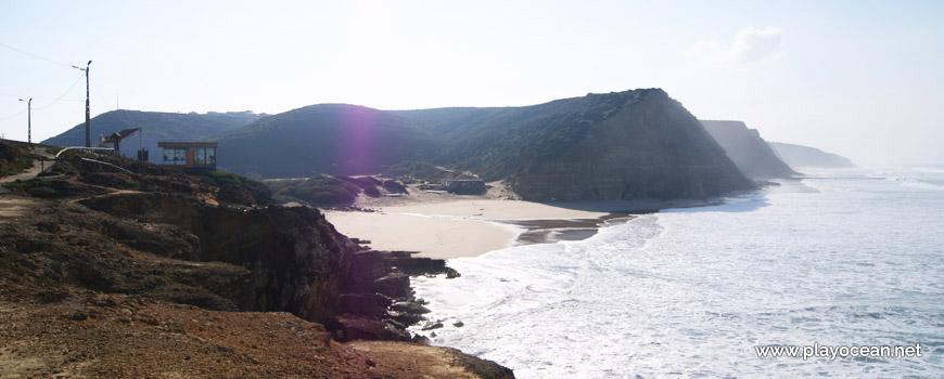 Vista para a Praia de São Julião